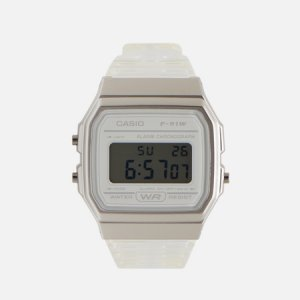 Наручные часы Collection F-91WS-7EF CASIO. Цвет: серый
