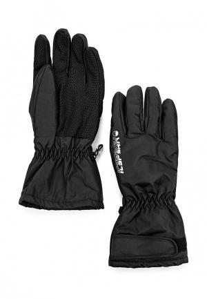 Перчатки Icepeak DINO. Цвет: черный