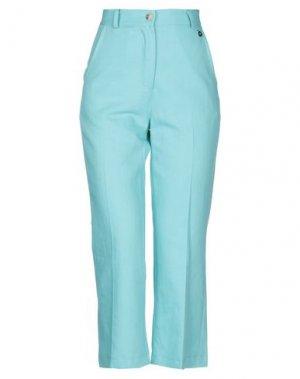 Повседневные брюки DIXIE. Цвет: небесно-голубой