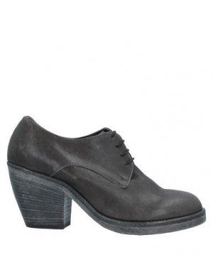 Обувь на шнурках ENTOURAGE. Цвет: свинцово-серый
