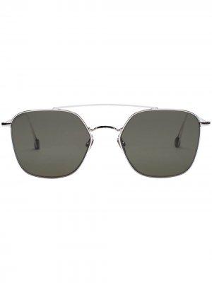 Солнцезащитные очки-авиаторы Concorde Ahlem. Цвет: белый
