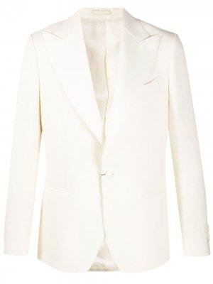Delloglio вечерний пиджак Dell'oglio. Цвет: нейтральные цвета