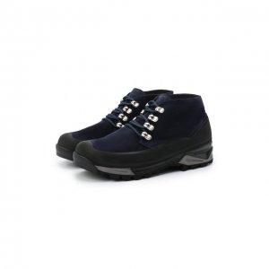Замшевые ботинки Diemme. Цвет: синий