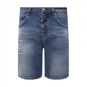 Джинсовые шорты Don the Fuller. Цвет: синий
