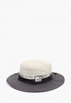 Панама Buff Booney Hat. Цвет: серый