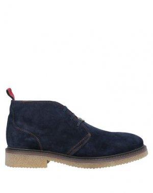 Полусапоги и высокие ботинки AMBITIOUS. Цвет: синий