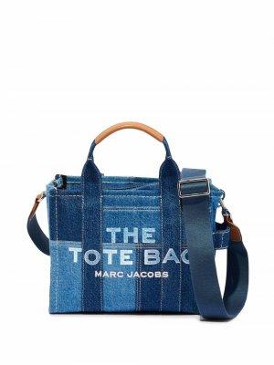 Маленькая сумка-тоут Denim Marc Jacobs. Цвет: синий