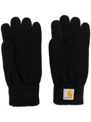 Трикотажные перчатки Carhartt. Цвет: чёрный