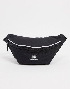 Черная сумка-кошелек на пояс -Черный New Balance