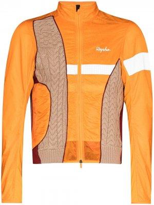 Куртка из коллаборации с Rapha Robyn Lynch. Цвет: оранжевый