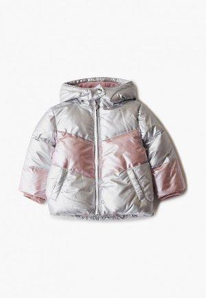 Куртка утепленная Losan. Цвет: серебряный