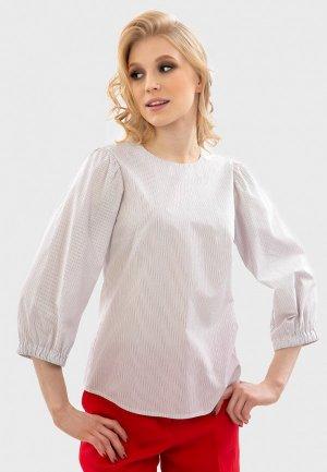 Блуза Энсо. Цвет: белый
