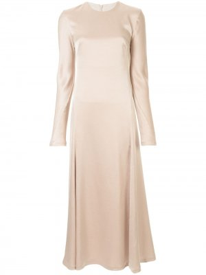 Платье Antonelli с длинными рукавами CAMILLA AND MARC. Цвет: золотистый