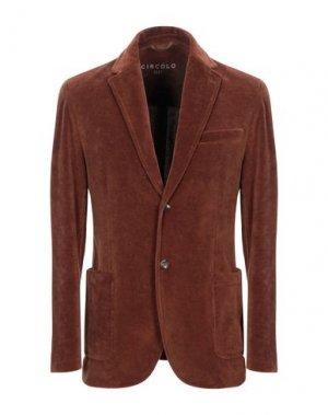 Пиджак CIRCOLO 1901. Цвет: кирпично-красный