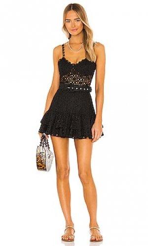 Мини платье marianne Charo Ruiz Ibiza. Цвет: черный