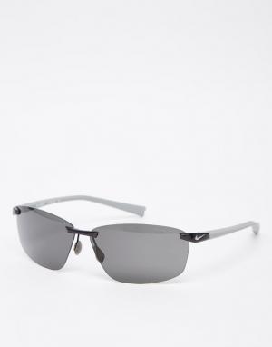 Солнцезащитные очки Emergent Nike. Цвет: серебряный