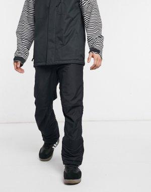 Черные горнолыжные брюки Valley Point-Черный цвет Columbia