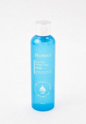 Флюид для лица Deoproce SPECIAL WATER PLUS, 260 мл. Цвет: прозрачный