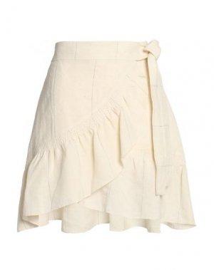 Мини-юбка A.L.C.. Цвет: слоновая кость