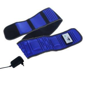 Массажёр luazon lmz-016 для похудения, пояс, 128 см, пульт в комплекте, синий Home