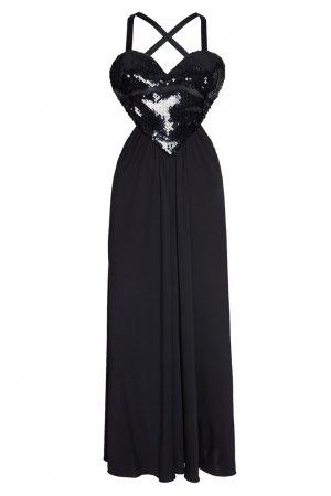 Платье Amore Azzaro. Цвет: черный