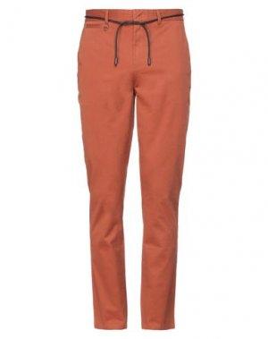Повседневные брюки ELEVEN PARIS. Цвет: желто-коричневый