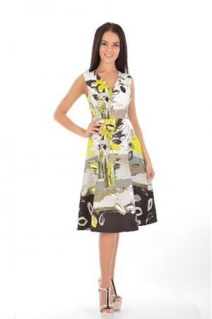 Платье D. Exterior. Цвет: разноцветный