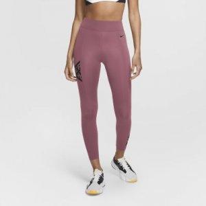 Женские слегка укороченные тайтсы с графикой Pro Nike