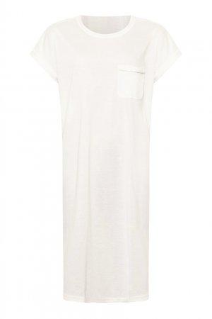 Белая сорочка Parce que ERES. Цвет: белый