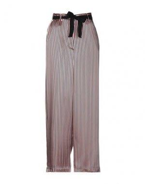 Повседневные брюки HACHE. Цвет: лососево-розовый