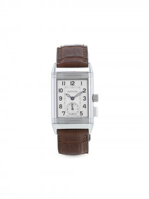 Наручные часы Reverso Memory pre-owned 23 мм 2000-х годов Jaeger-LeCoultre. Цвет: серебристый