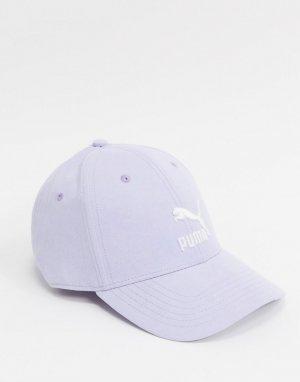 Лавандовая бейсболка из искусственной замши -Фиолетовый Puma