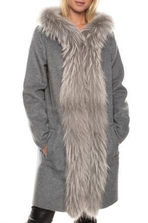 Пальто Giorgio. Цвет: gray