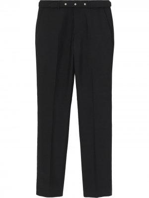 Классические строгие брюки с заклепками Burberry