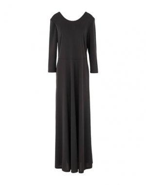 Длинное платье SEVENTY SERGIO TEGON. Цвет: черный