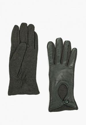 Перчатки Fabretti. Цвет: зеленый