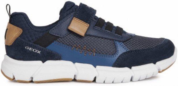Кроссовки для мальчиков J Flexyper B. B, размер 37 Geox. Цвет: синий