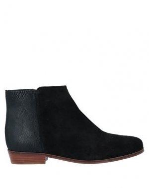 Полусапоги и высокие ботинки BOBBIES. Цвет: черный