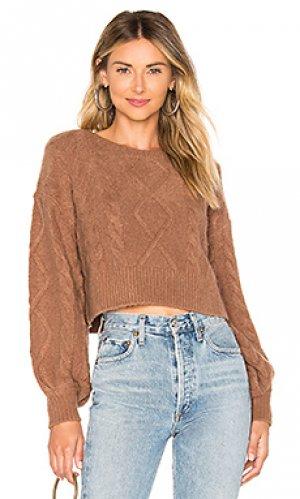 Пуловер perris Tularosa. Цвет: коричневый