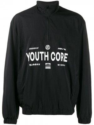 Куртка с принтом Youth Core Misbhv. Цвет: черный