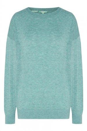 Пуловер цвета мяты Akhmadullina DREAMS. Цвет: зеленый
