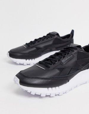 Черные кроссовки Classic Legacy-Черный Reebok