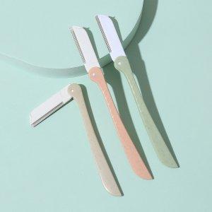 3шт триммер для бровей случайного цвета SHEIN. Цвет: многоцветный