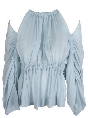 Хлопковая блуза FENDI