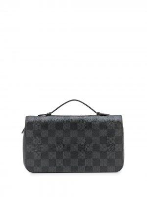 Кошелек Zippy XL pre-owned Louis Vuitton. Цвет: серый
