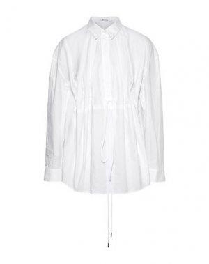 Блузка CHALAYAN. Цвет: белый