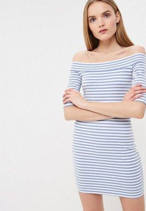 Платье Terekhov Girl. Цвет: голубой