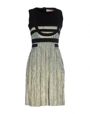 Короткое платье JASMINE DI MILO. Цвет: платиновый