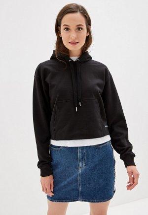 Худи Calvin Klein Jeans. Цвет: черный