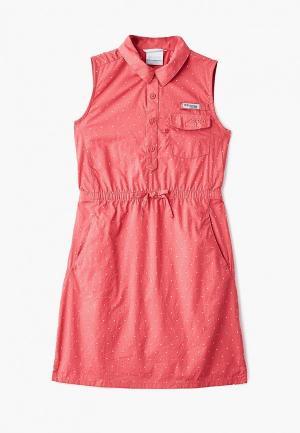 Платье Columbia Super Bonehead™ Dress. Цвет: розовый